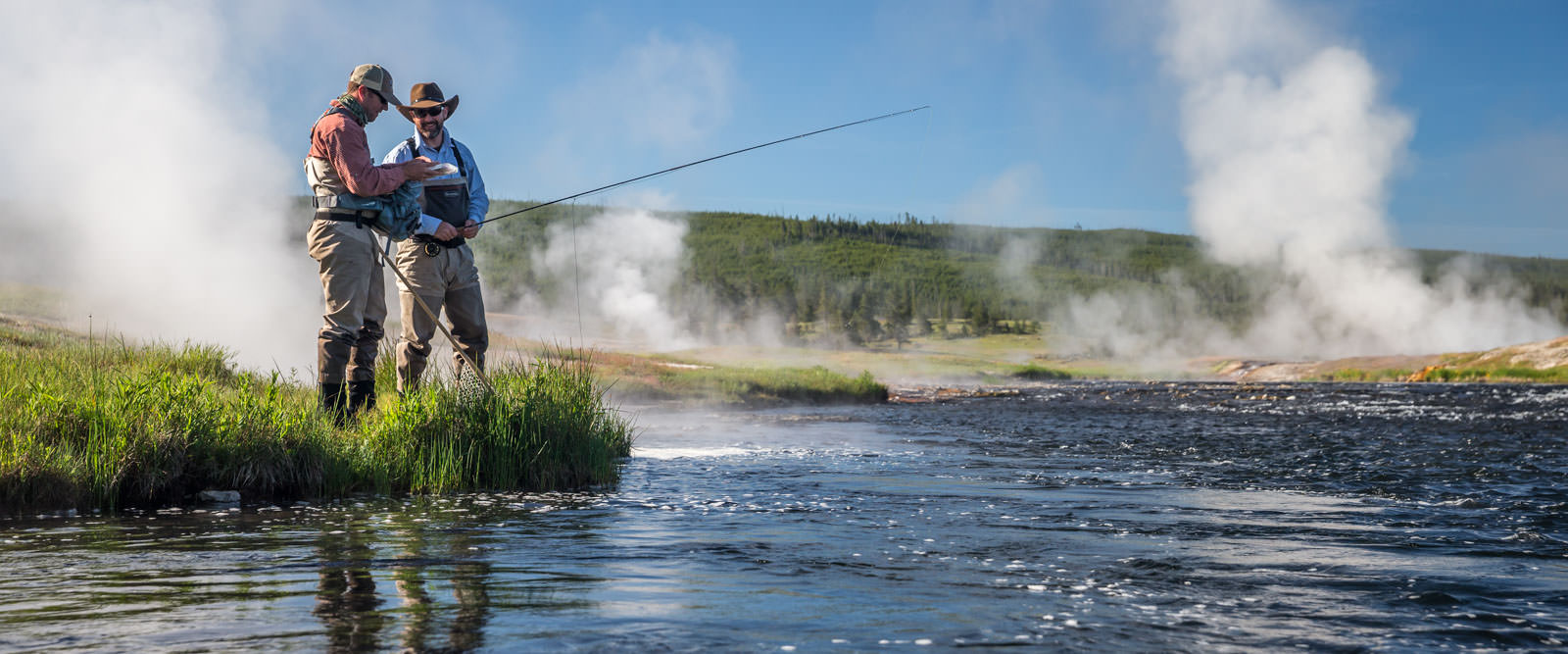 Montana fly fishing information on rivers guides and lodges for Yellowstone national park fishing