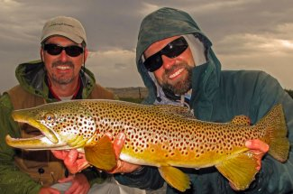big btown trout fly fishing montana yellowstone