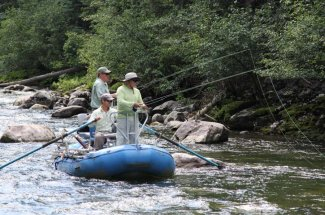 adventure fly fishing montana guided trip river