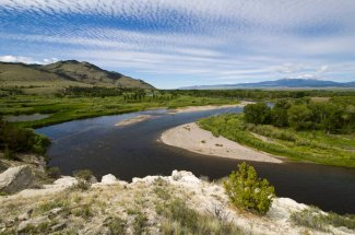 fly fishing montana river guided trip