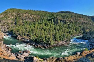 roaring river montana guided fly fishing trip
