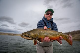 brook trout montana guided trip float trip fly fishing