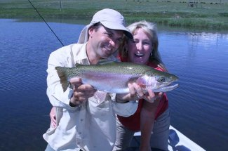 Montana Angler offers guided fly fishing trips on Harrison Lake