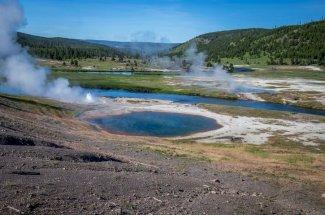 fishing Yellowstone National Park Firehole River
