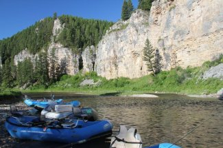 river mountains fly fishing guided trip montana