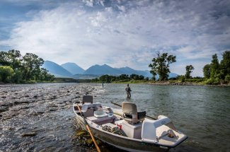 float trip montana fly fishing guided trip