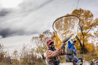 fly fishing yellowstone national park guided trip montana