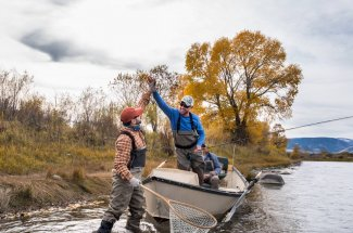 montana float trip fly fishing guided