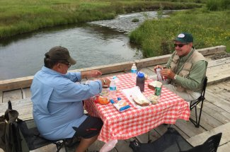guided trip fly fishing montana adventure